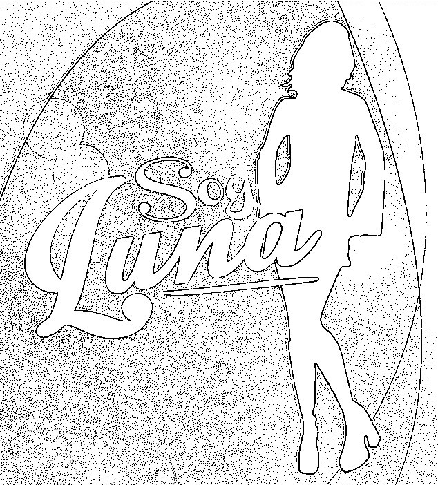 Coloring Page Soy Luna 5