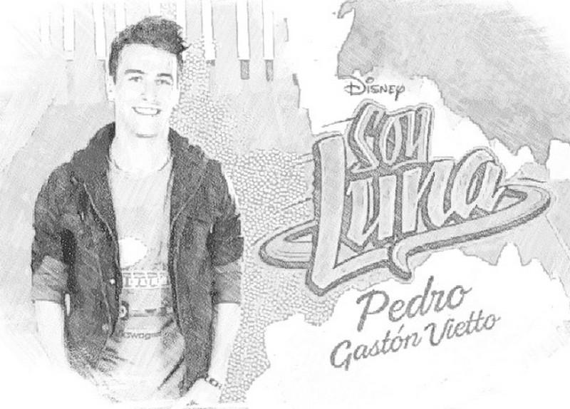 Disegno Da Colorare Soy Luna Pedro 7