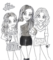 Coloring page Soy Luna
