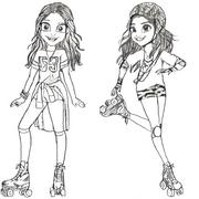 Desenhos Para Colorir Soy Luna Morning Kids