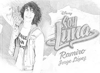 Desenho para colorir Ramiro
