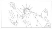 Desenho para colorir Phantom Boy