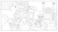 Coloring page Phantom Boy