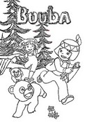 Coloring page Bouba