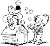 Malvorlagen Boule und Bill
