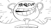 Coloring page Troll Face Quest