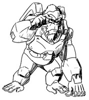Coloring page Winston