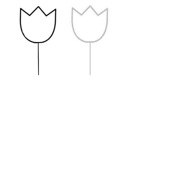 Dibujo para colorear Hojas de trabajo para preescolar Primavera 3