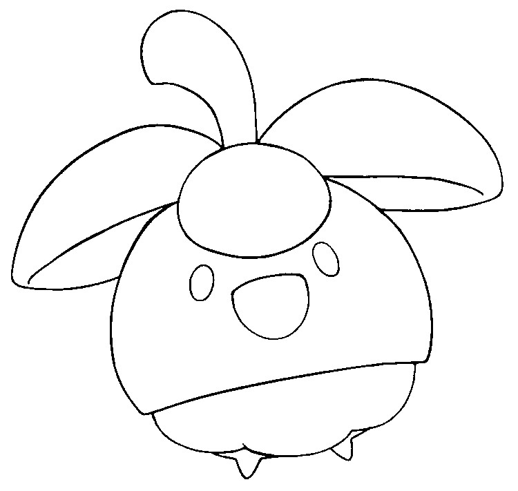 Coloring Page Pokemon Sun And Moon Bounsweet 24