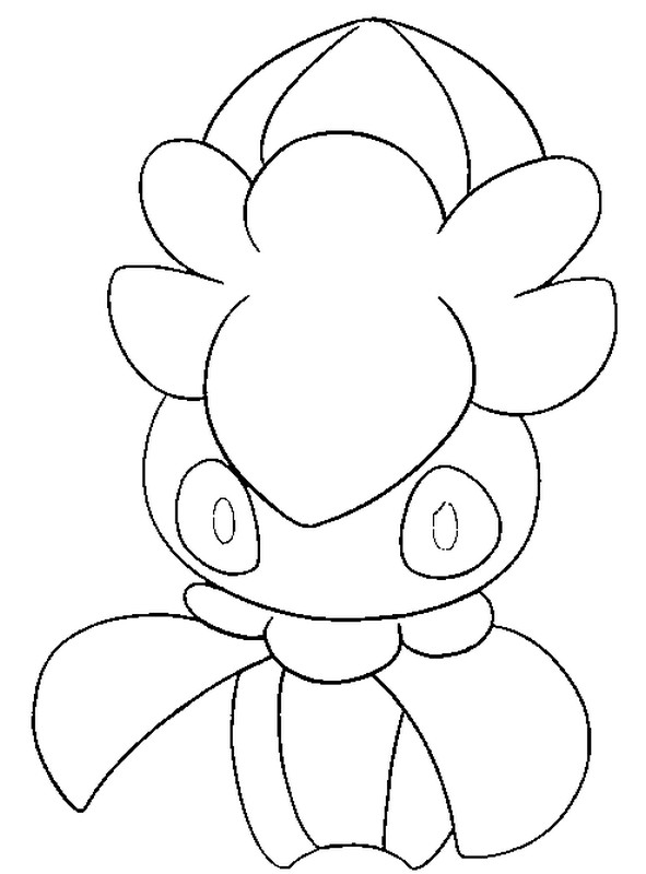 Coloring Page Fomantis