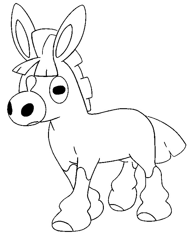 Coloring Page Mudbray