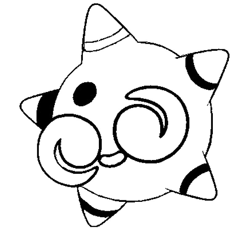 Coloring Page Minior Alternative Form