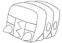 Desenho para colorir Charjabug