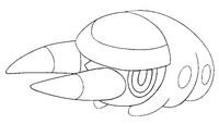 Desenho para colorir Grubbin
