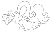 Coloring page Drampa