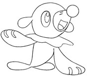 Coloring page Popplio