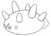 Desenho para colorir Pyukumuku