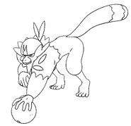 Coloring page Passimian