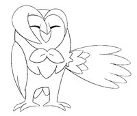 Coloring page Dartrix