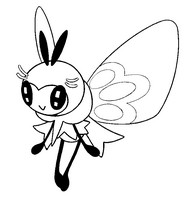 Coloring page Ribombee