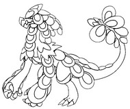 coloring page kommo o - Sun And Moon Coloring Pages
