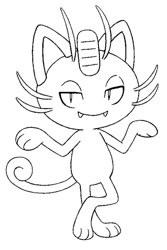 Alola Pokemon Coloring Pages Images Sketch Coloring Page