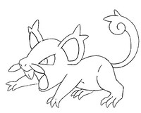 coloring pages pok 233 mon alola forms morning