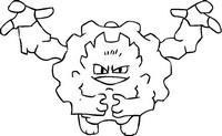 Desenho para colorir Alola Graveler