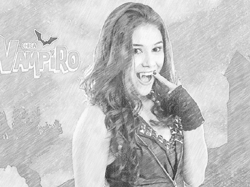 Coloring Pages Chica Vampiro Morning Kids