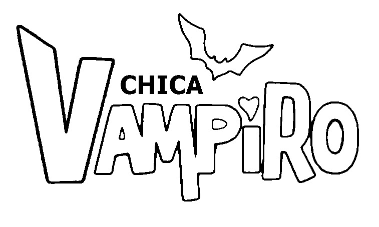 Dibujo Para Colorear Chica Vampiro Chica Vampiro 4
