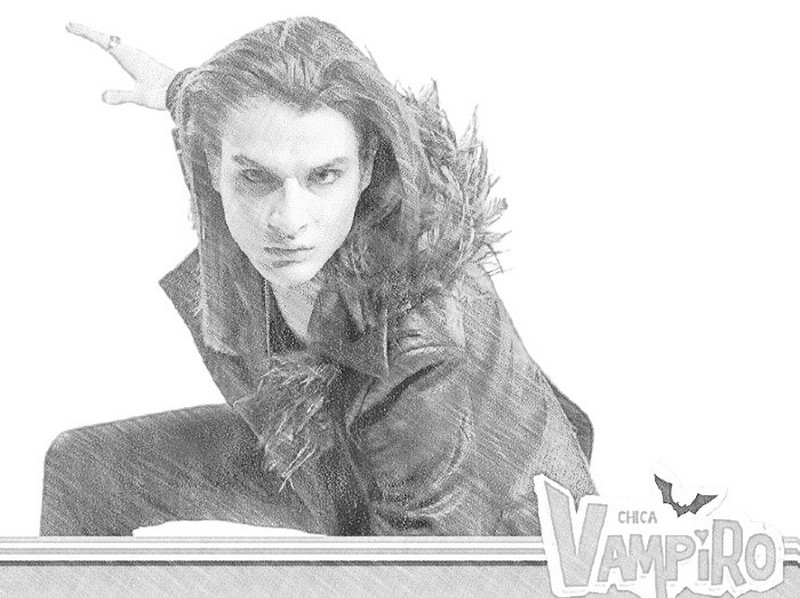 Disegni Da Colorare Chica Vampiro Morning Kids