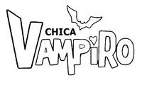 Dibujo para colorear Chica Vampiro
