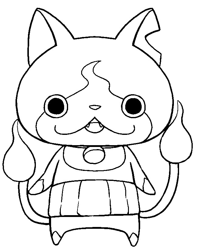 yo kai watch coloring pages dessin yo kai tl86 jornalagora