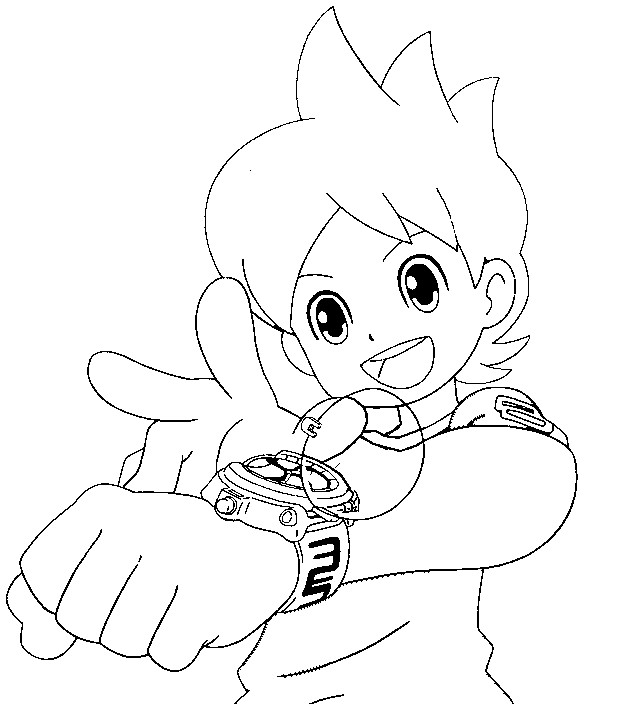 Coloring Page Nathan Adams