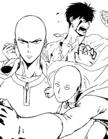 Dibujo para colorear One Punch Man