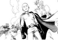 Coloring page Saitama