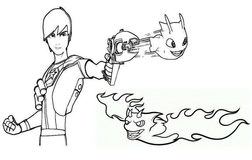 slugterra coloring pages transformation tuesday - photo#28