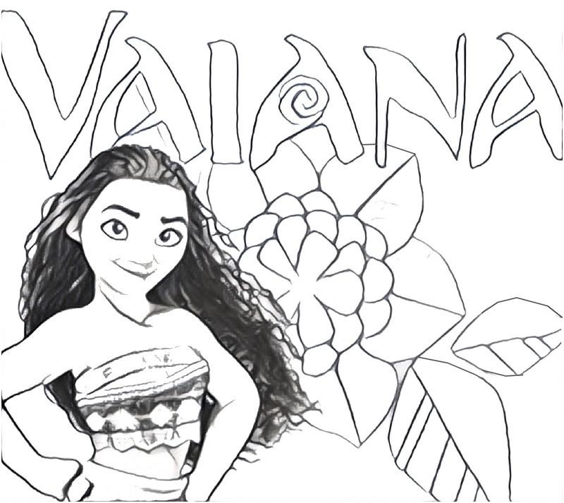 Malvorlagen Vajana Coloring And Malvorlagan