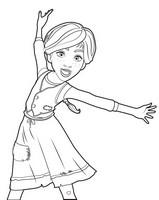 Malvorlagen Ballerina Bilder Zum Ausmalen