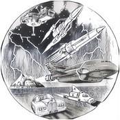 Desenho para colorir Thunderbirds