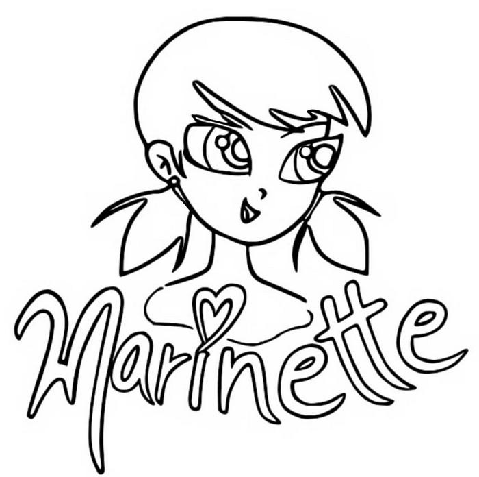Disegno Da Colorare Miraculous Ladybug Marinette Dupain Cheng 10