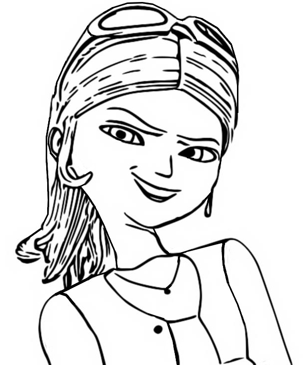 - Coloring Page Miraculous Ladybug : Chloé Bourgeois 13