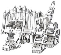 coloring pages dinotrux morning