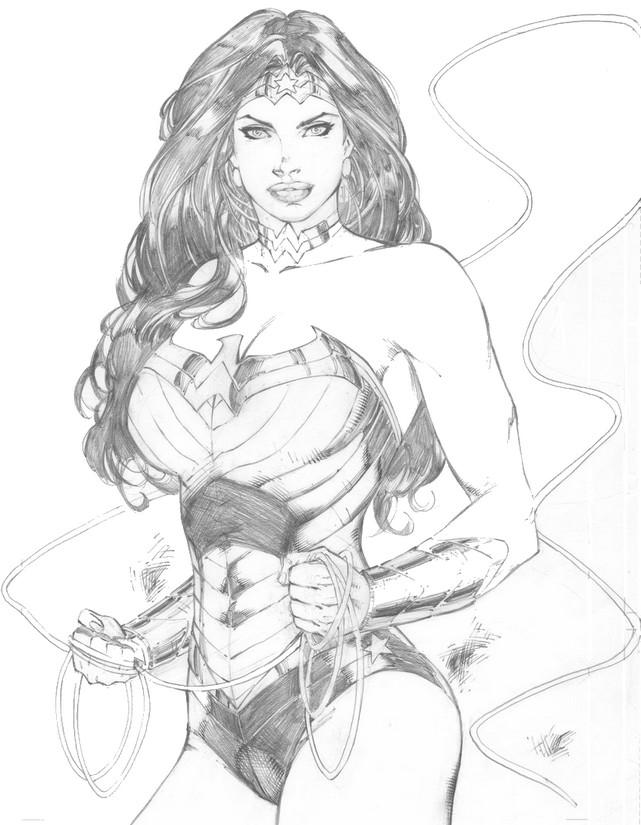 Malvorlagen Wonder Woman 1