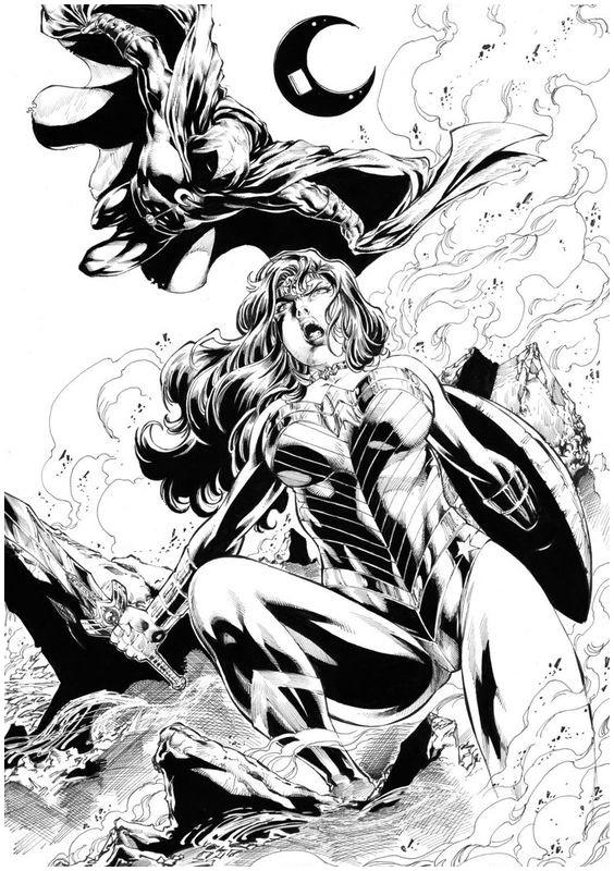Malvorlagen Wonder Woman 10