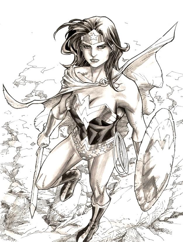 Malvorlagen Wonder Woman 3