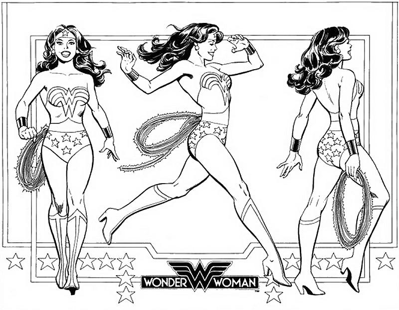 Malvorlagen Wonder Woman 7