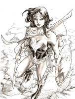 Disegno da colorare Wonder Woman