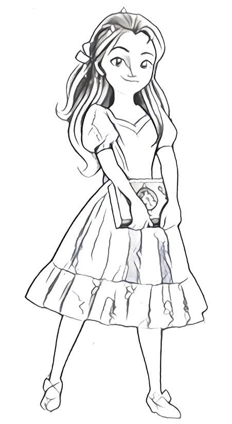 Desenho Para Colorir Elena De Avalor 5