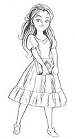 Desenho para colorir Elena de Avalor